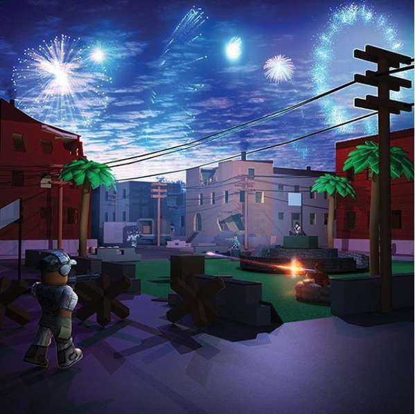 Roblox - City Fireworks